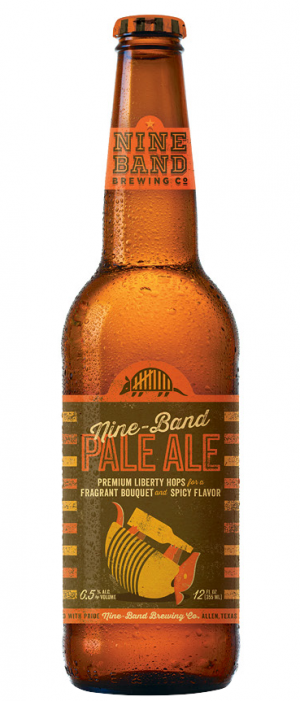 Nine Band Pale Ale by Nine Band Brewing in Texas, United States