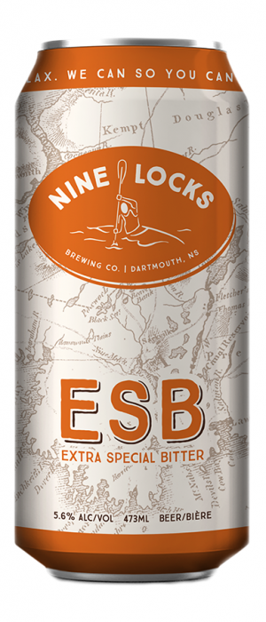 ESB by Nine Locks Brewing Company in Nova Scotia, Canada