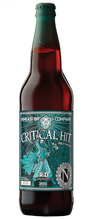 Critical Hit 2011 by Ninkasi Brewing Company in Oregon, United States
