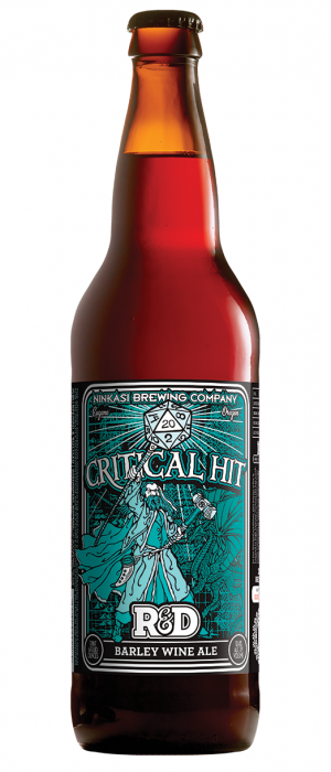 Critical Hit 2012 by Ninkasi Brewing Company in Oregon, United States