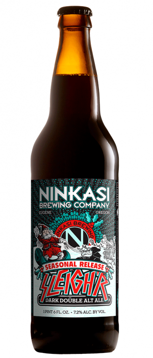 Sleigh'r by Ninkasi Brewing Company in Oregon, United States