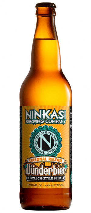 Wünderbier by Ninkasi Brewing Company in Oregon, United States