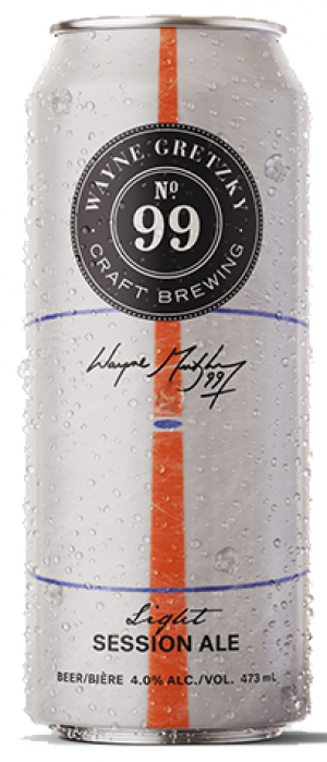 No. 99 Session Ale by Wayne Gretzky Craft Brewing in Ontario, Canada
