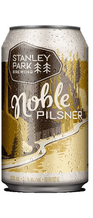 Noble Pilsner by Stanley Park Brewing in British Columbia, Canada