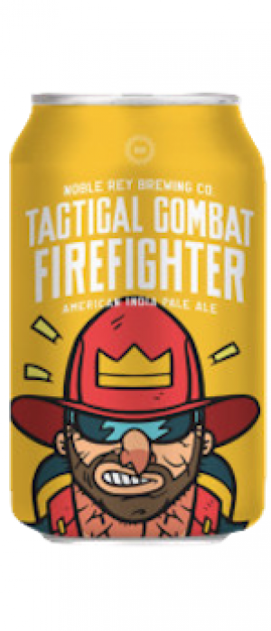Tactical Combat Firefighter by Noble Rey Brewing Company in Texas, United States