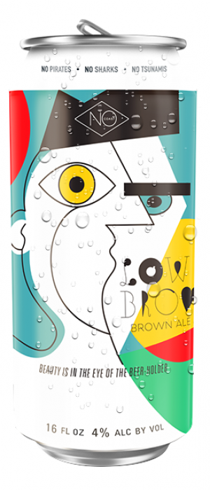 Low Brow by NoCoast Beer Co. in Iowa, United States