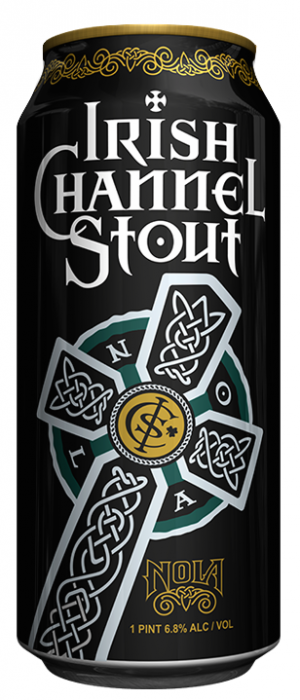 Irish Chanel Stout by Nola Brewing Company in Louisiana, United States