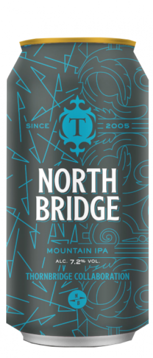 North Bridge Mountain IPA by Thornbridge in Derbyshire - England, United Kingdom