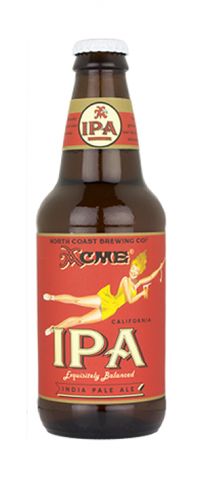 Acme California IPA by North Coast Brewing Company in California, United States