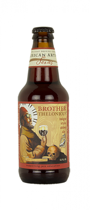 Brother Thelonious Belgian Style Abbey Ale by North Coast Brewing Company in California, United States