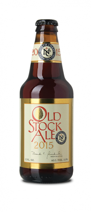 Old Stock Ale by North Coast Brewing Company in California, United States
