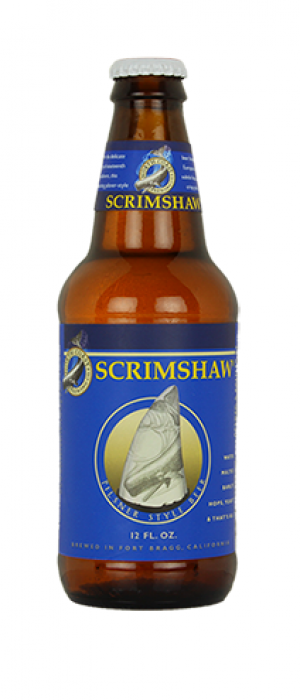 Scrimshaw Pilsner by North Coast Brewing Company in California, United States