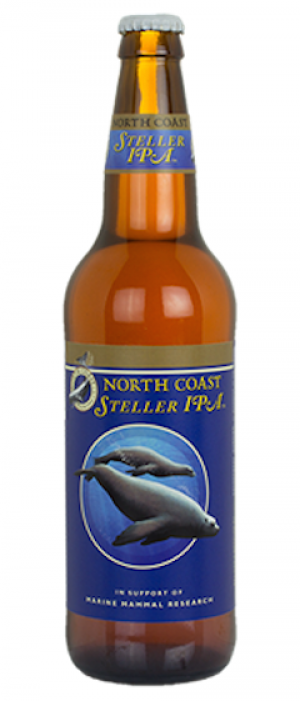 Steller IPA by North Coast Brewing Company in California, United States