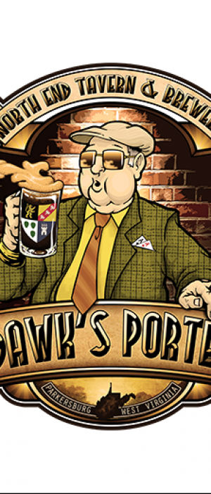 Dawk's Porter by North End Tavern & Brewery in West Virginia, United States