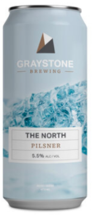 The North Pilsner by Graystone Brewing in New Brunswick, Canada