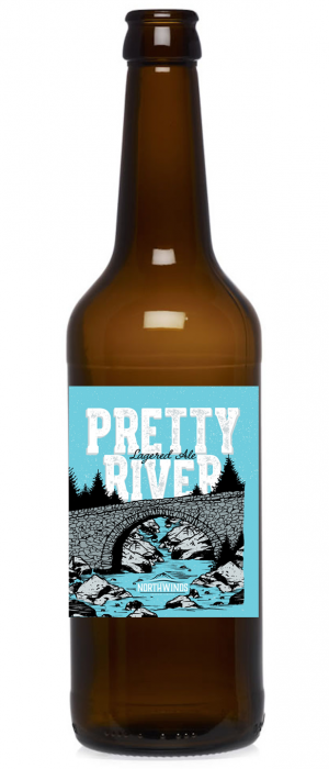 Pretty River Lagered Ale by Northwinds Brewery Limited in Ontario, Canada