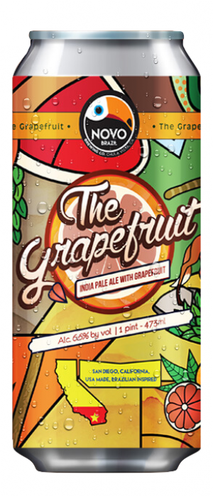 The Grapefruit by Novo Brazil Brewing in California, United States