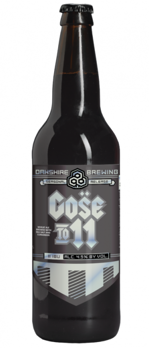 Gose To 11 by Oakshire Brewing in Oregon, United States