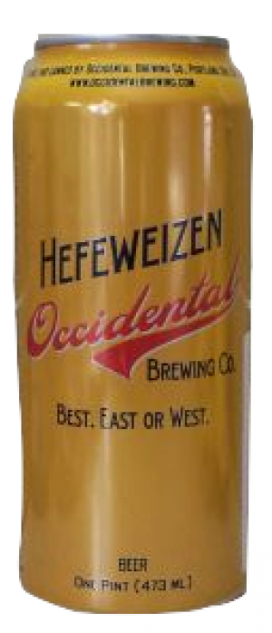 Hefeweizen by Occidental Brewing Company in Oregon, United States