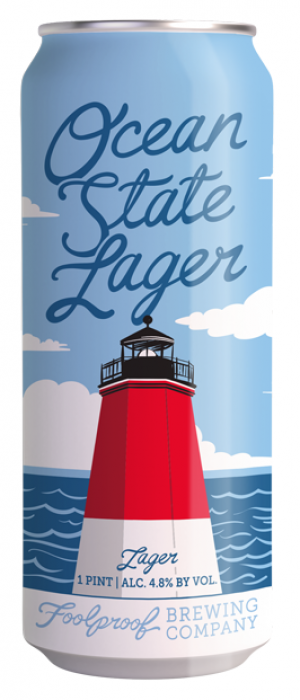 Ocean State Lager by Foolproof Brewing Company in Rhode Island, United States