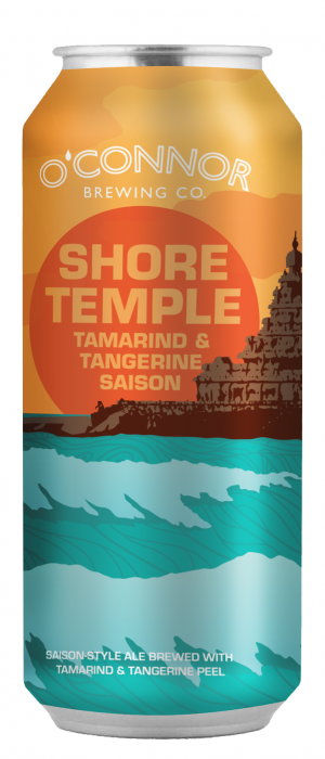 Shore Temple Tamarind & Tangerine Saison by O'Connor Brewing Co. in Virginia, United States