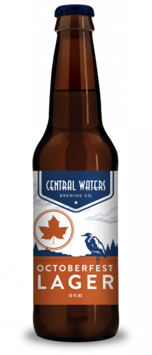 Octoberfest Lager by Central Waters Brewing Company in Wisconsin, United States