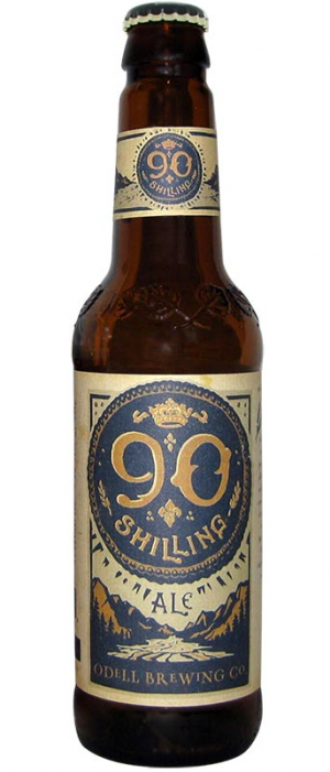 90 Shilling Ale by Odell Brewing Company in Colorado, United States