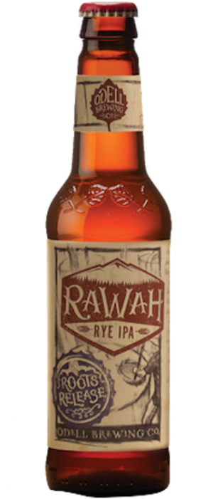 Rawah Rye IPA by Odell Brewing Company in Colorado, United States