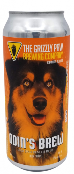 Odin's Brew by The Grizzly Paw Brewing Company in Alberta, Canada