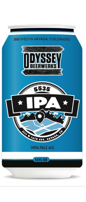 5535 IPA by Odyssey Beerwerks in Colorado, United States