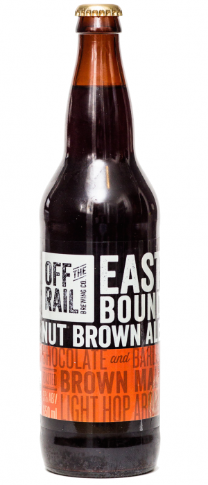 Eastbound Nut Brown Ale by Off The Rail Brewing Company in British Columbia, Canada