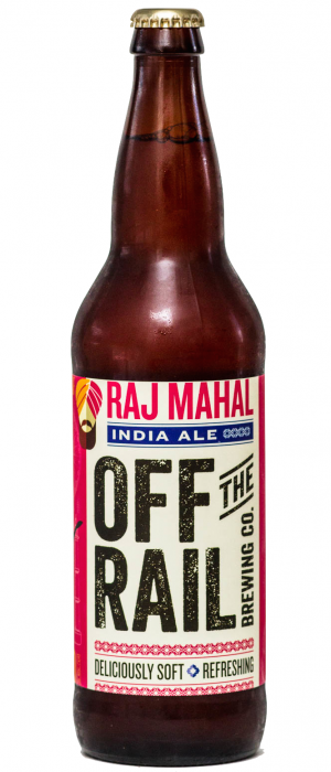 Raj Mahal India Ale by Off The Rail Brewing Company in British Columbia, Canada