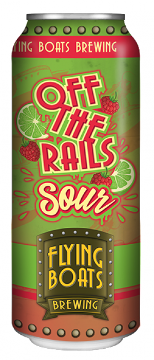 Off The Rails Sour by Flying Boats Brewing in New Brunswick, Canada