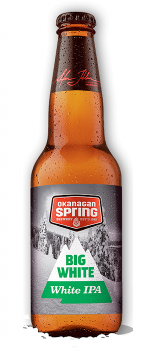Big White White IPA by Okanagan Spring Brewery in British Columbia, Canada