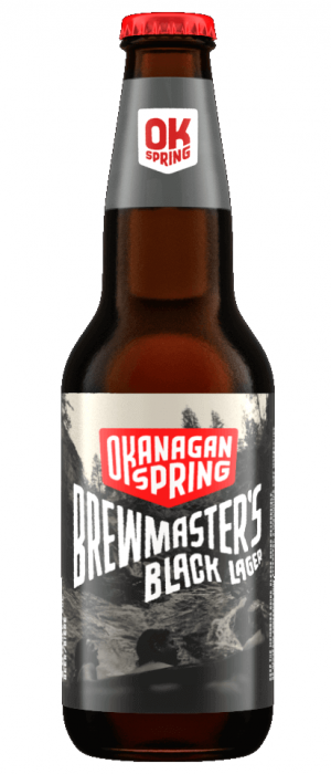 Brewmaster's Black Lager by Okanagan Spring Brewery in British Columbia, Canada