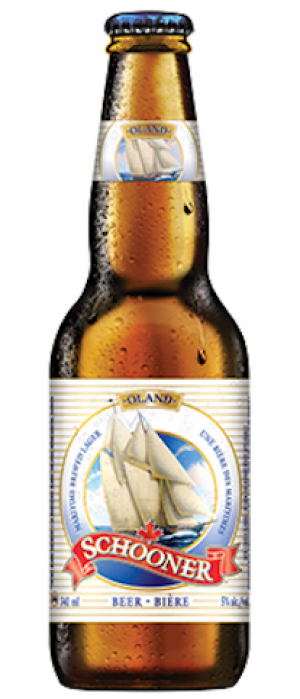 Schooner Lager by Oland Brewery in Nova Scotia, Canada