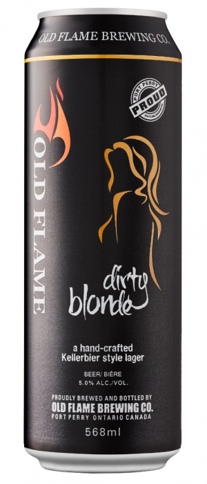 Old Flame Dirty Blonde by Old Flame Brewing Company in Ontario, Canada