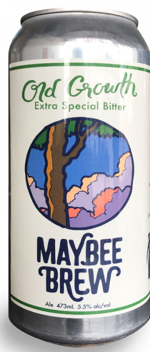Old Growth Extra Special Bitter by Maybee Brew Co. in New Brunswick, Canada