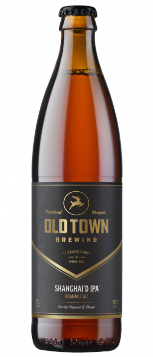 Shanghai'd IPA by Old Town Brewing in Oregon, United States