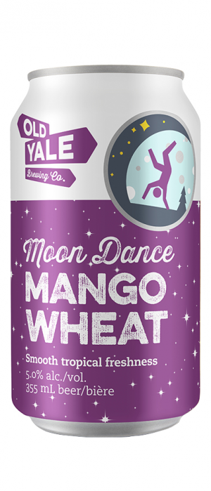 Old Yale Brewing Moon Dance Mango Wheat | Just Beer