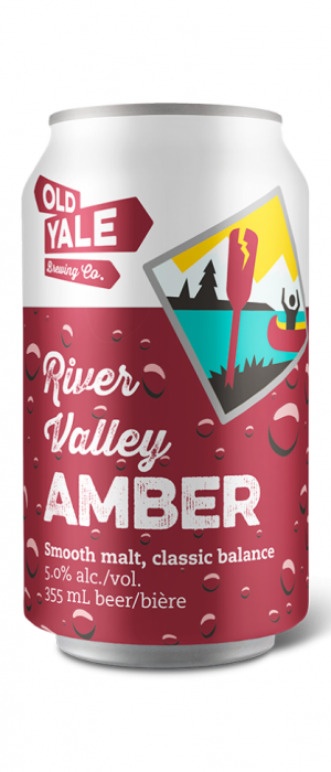 River Valley Amber by Old Yale Brewing in British Columbia, Canada