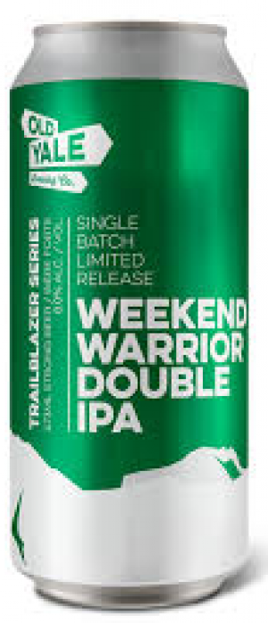 Weekend Warrior Double IPA by Old Yale Brewing in British Columbia, Canada