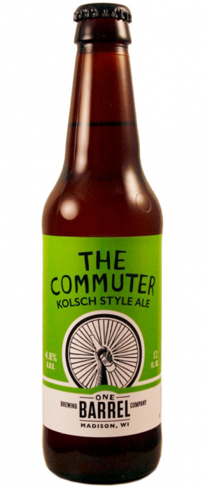 Commuter Kölsch by One Barrel Brewing Company in Wisconsin, United States