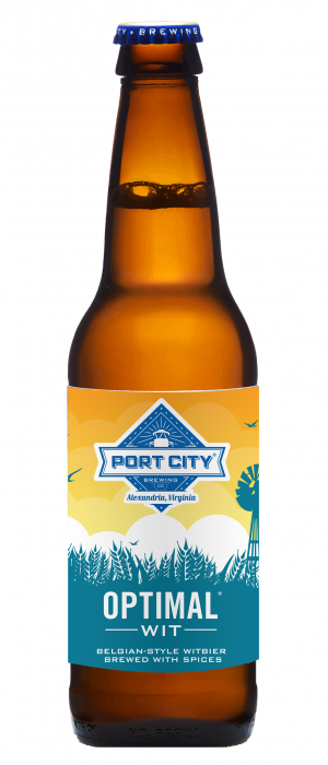 Optimal Wit by Port City Brewing Company in Virginia, United States