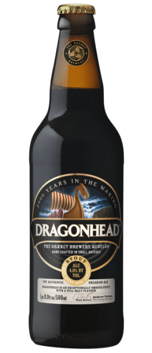 Dragonhead by The Orkney Brewery in Kirkcudbrightshire - Scotland, United Kingdom