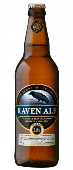 Raven Ale by The Orkney Brewery in Kirkcudbrightshire - Scotland, United Kingdom