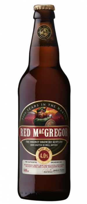 Red Macgregor by The Orkney Brewery in Kirkcudbrightshire - Scotland, United Kingdom