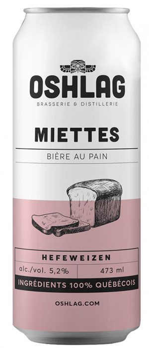 Miettes by Oshlag Brasserie & Distillerie in Québec, Canada