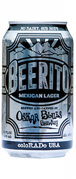 Beerito by Oskar Blues Brewery in Colorado, United States