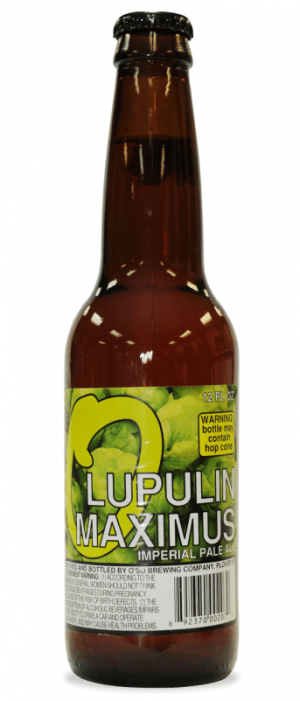 Lupulin Maximus by O'so Brewing Company in Wisconsin, United States